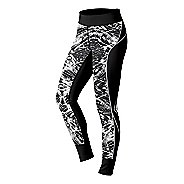 Womens ASICS Lite-Show Fitted Tights