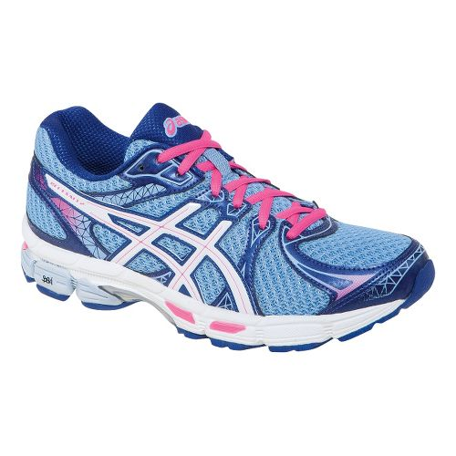 Womens ASICS Gel-Exalt 2 Running Shoe - Ice Blue/Hot Pink 5.5