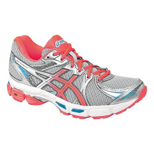 Womens ASICS Gel-Exalt 2 Running Shoe - Lightning/Coral 6.5