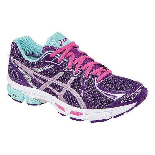 Womens ASICS Gel-Exalt 2 Lite-Show Running Shoe - Berry/Aqua 7.5