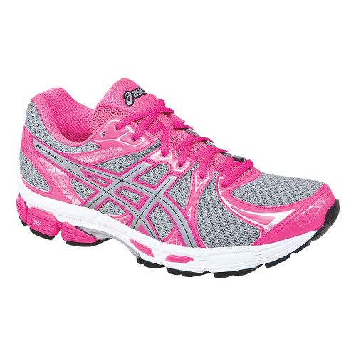 Womens ASICS Gel-Exalt 2 Lite-Show Running Shoe - Lightning/Hot Pink 9