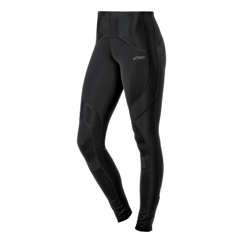 Womens ASICS Leg Balance Fitted Tights - Performance Black XL