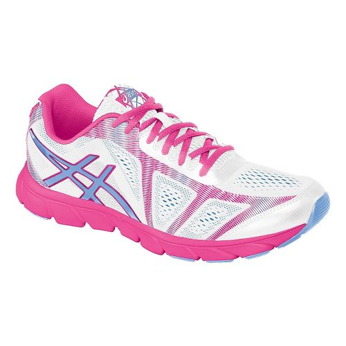 Womens ASICS GEL-Havoc 2 Running Shoe - White/Hot Pink 7