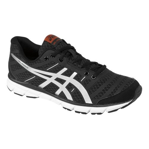 Mens ASICS GEL-Zaraca 2 Running Shoe - Black/Silver 12.5