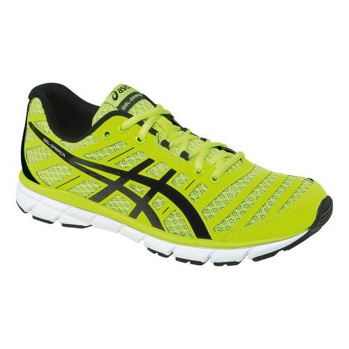 Mens ASICS GEL-Zaraca 2 Running Shoe - Flash Yellow/Black 14