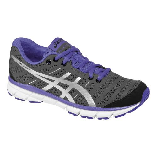 Womens ASICS GEL-Zaraca 2 Running Shoe - Black/Blue Iris 8