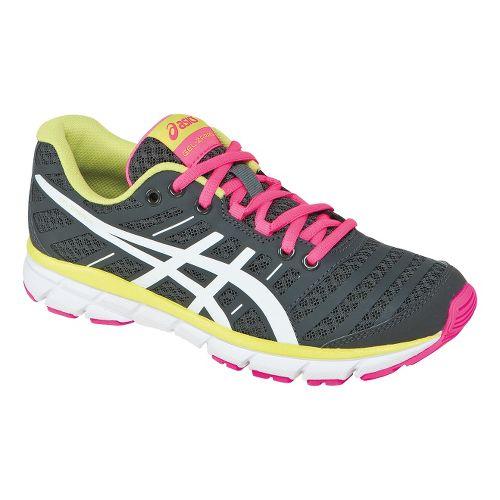 Womens ASICS GEL-Zaraca 2 Running Shoe - Dark Charcoal/Neon Pink 11