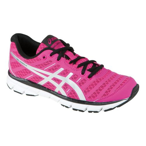 Womens ASICS GEL-Zaraca 2 Running Shoe - Neon Pink/Silver 5.5