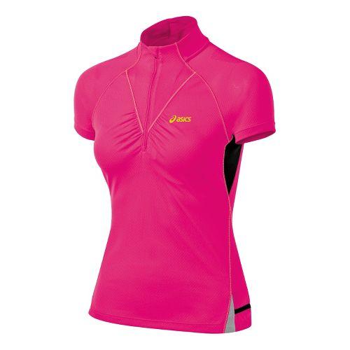Women's ASICS�FujiTrail Short Sleeve 1/2 Zip