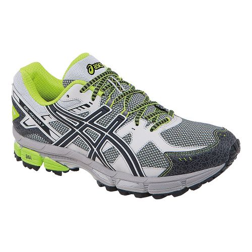 Mens ASICS GEL-Kahana 7 Trail Running Shoe - Onyx/Beach Glass 8