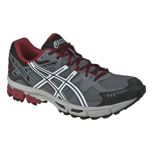Mens ASICS GEL-Kahana 7 Trail Running Shoe - Titanium/Lightning 9.5