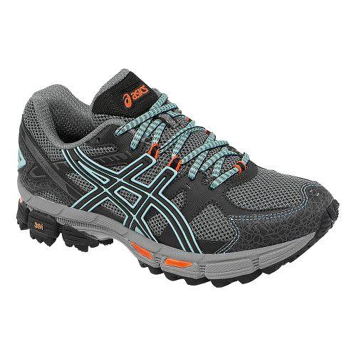 Womens ASICS GEL-Kahana 7 Trail Running Shoe - Onyx/Beach Glass 10