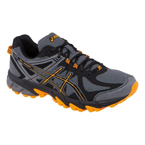 Mens ASICS GEL-Sonoma Trail Running Shoe - Carbon/Marigold 8.5