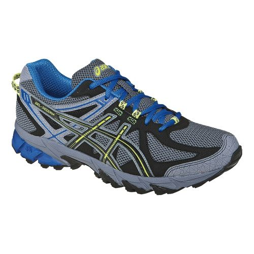 Mens ASICS GEL-Sonoma Trail Running Shoe - Titanium/Royal 12.5