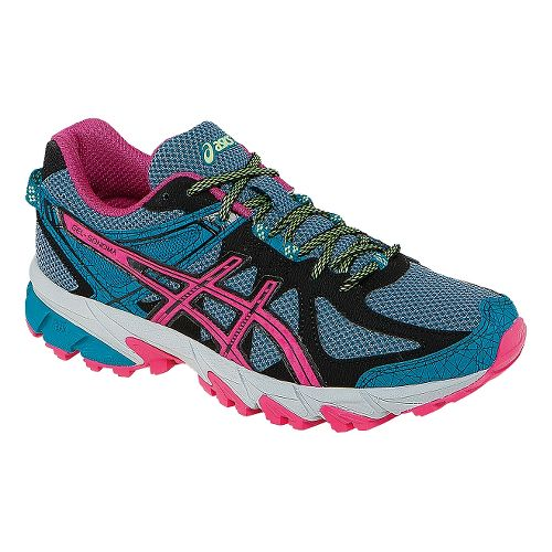 Womens ASICS GEL-Sonoma Trail Running Shoe - Blue/Magenta 10.5