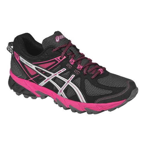 Womens ASICS GEL-Sonoma Trail Running Shoe - Graphite/Magenta 10.5