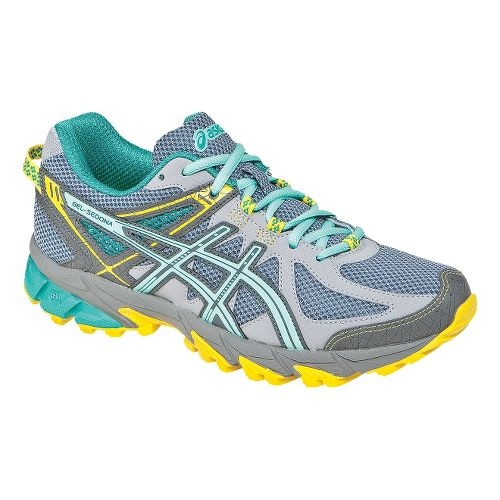 Womens ASICS GEL-Sonoma Trail Running Shoe - Grey/Ice Blue 10.5