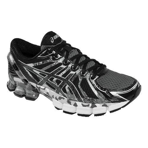 Mens ASICS GEL-Sendai 2 Running Shoe - Onyx/Black Lightning 7
