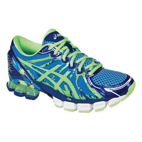 Womens ASICS GEL-Sendai 2 Running Shoe - Ice Blue/Mint 8