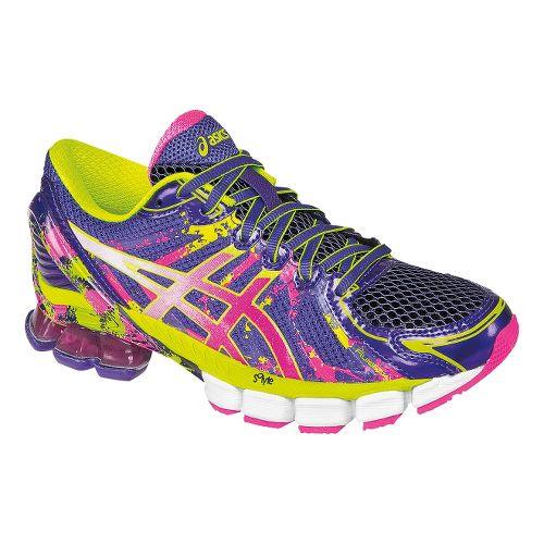 Womens ASICS GEL-Sendai 2 Running Shoe - Purple/Hot Pink 9