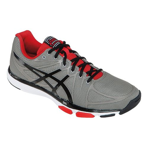 Mens ASICS GEL-Exert TR Cross Training Shoe - Cement/Red 8.5