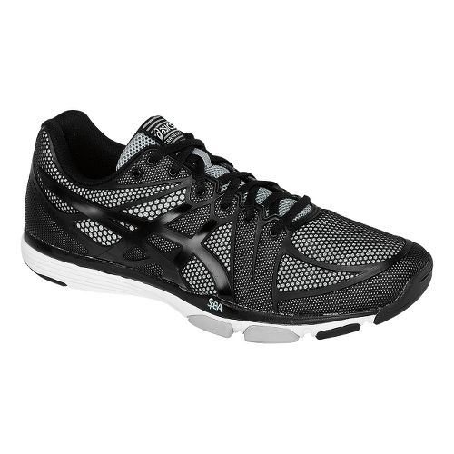 Mens ASICS GEL-Exert TR Cross Training Shoe - Black/Onyx 12.5