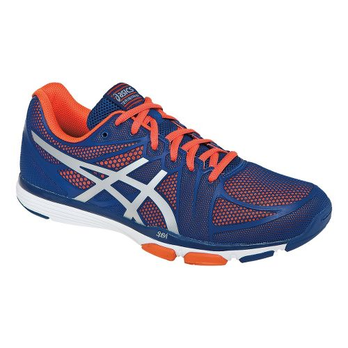 Mens ASICS GEL-Exert TR Cross Training Shoe - Dark Blue/Orange 11.5