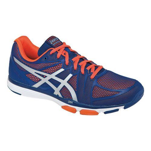 Mens ASICS GEL-Exert TR Cross Training Shoe - Dark Blue/Orange 12.5