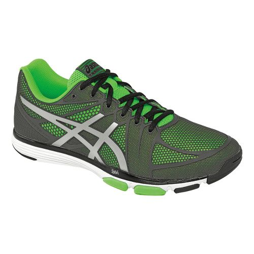 Mens ASICS GEL-Exert TR Cross Training Shoe - Titanium/Green 11.5