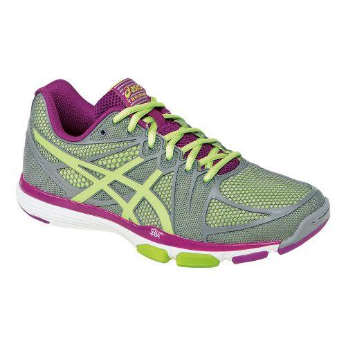 Womens ASICS GEL-Exert TR Cross Training Shoe - Grey/Limeade 10.5