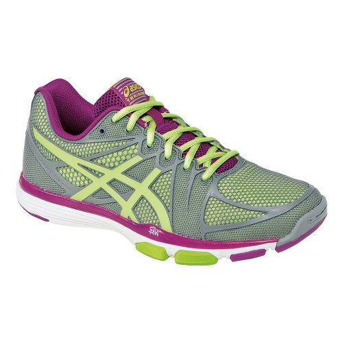 Womens ASICS GEL-Exert TR Cross Training Shoe - Grey/Limeade 7.5