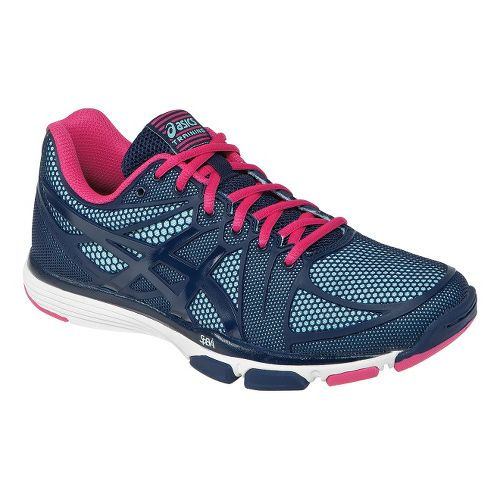 Womens ASICS GEL-Exert TR Cross Training Shoe - Titanium/Grape 11.5