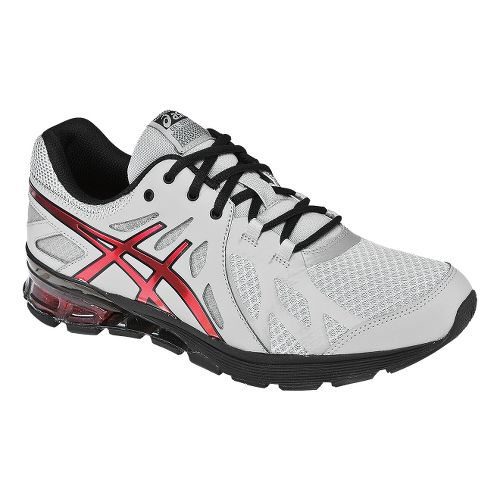Mens ASICS GEL-Defiant Cross Training Shoe - Titanium/Red 8