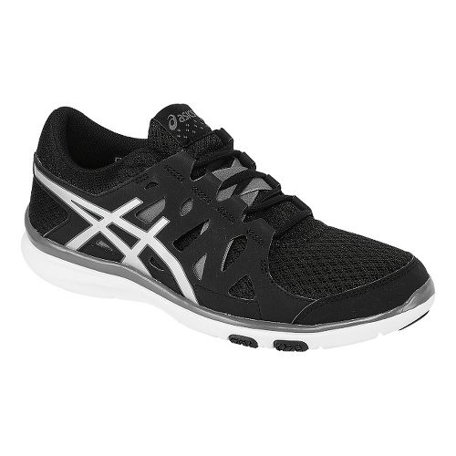 Womens ASICS GEL-Fit Tempo Cross Training Shoe - Black/Silver 7.5