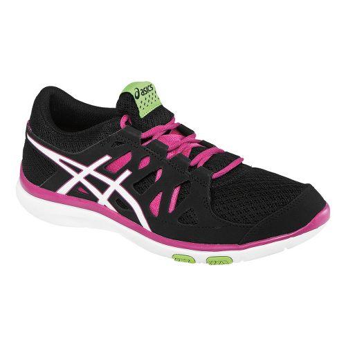 Womens ASICS GEL-Fit Tempo Cross Training Shoe - Black/Hot Pink 7.5