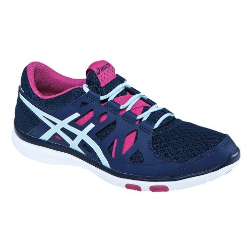 Womens ASICS GEL-Fit Tempo Cross Training Shoe - Navy/Ice Blue 7.5