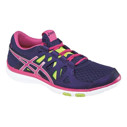 Womens ASICS GEL-Fit Tempo Cross Training Shoe - Purple/Hot Pink 7.5