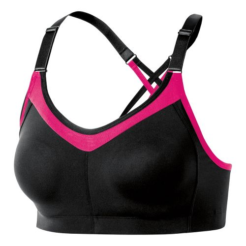 Womens ASICS Crossback Sports Bras - Black XS