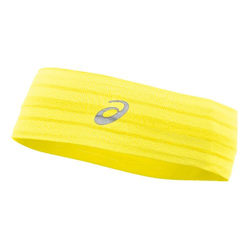 ASICS Illusion Headband Headwear - Sunshine Yellow