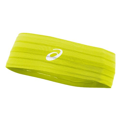 ASICS Illusion Headband Headwear - Electric Lime
