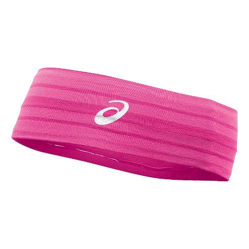 ASICS Illusion Headband Headwear - Neon Pink
