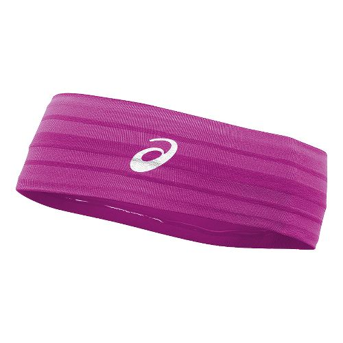 ASICS Illusion Headband Headwear - Neon Purple