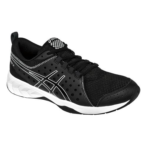 Mens ASICS GEL-Engage 3C Cross Training Shoe - Black/Silver 12