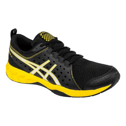 Mens ASICS GEL-Engage 3C Cross Training Shoe - Black/Yellow 12.5