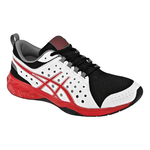Mens ASICS GEL-Engage 3C Cross Training Shoe - White/Red 9.5