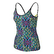 Womens ASICS Illusion Print Tank Sport Top Bras
