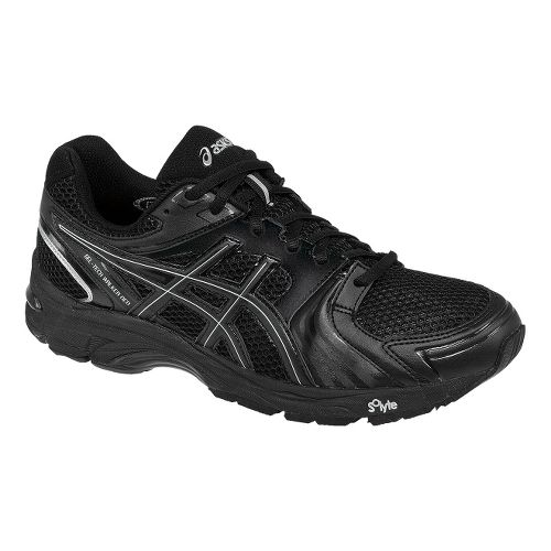 Mens ASICS GEL-Tech Walker Neo 4 Walking Shoe - Black/Silver 11.5