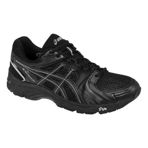 Mens ASICS GEL-Tech Walker Neo 4 Walking Shoe - Black/Silver 7.5