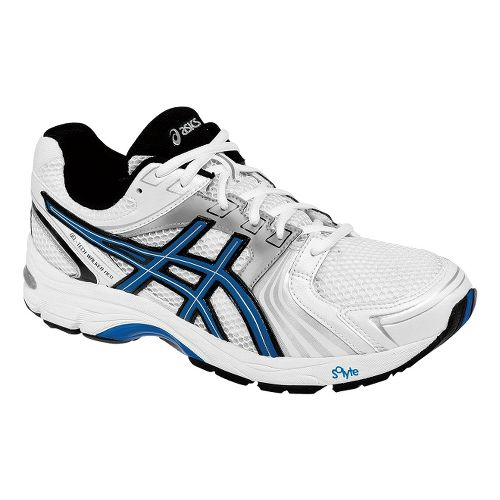 Mens ASICS GEL-Tech Walker Neo 4 Walking Shoe - White/Royal 11.5