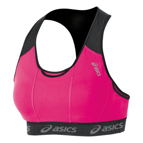Womens ASICS Abby Pocket Sports Bras - Magenta XS